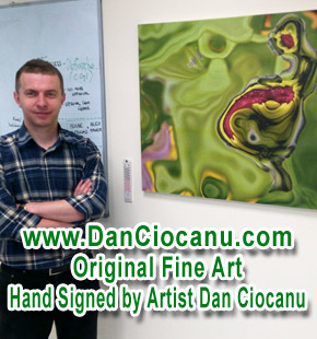 Dan Ciocanu abstract art - megapositive art
